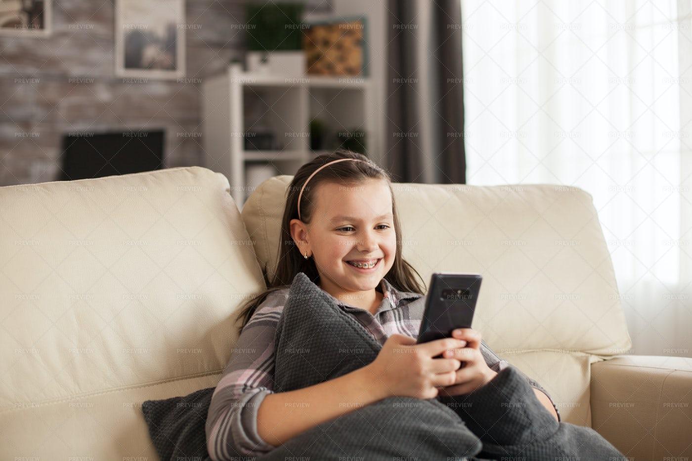 Girl With A Big Smile: Stock Photos