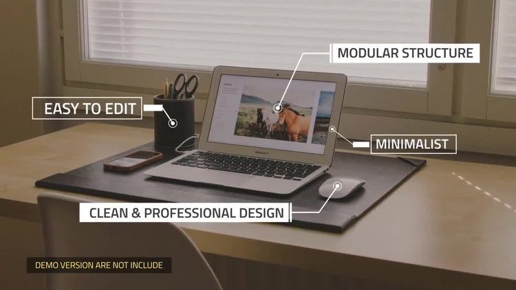 Call Out Titles - Single Line: Motion Graphics Templates