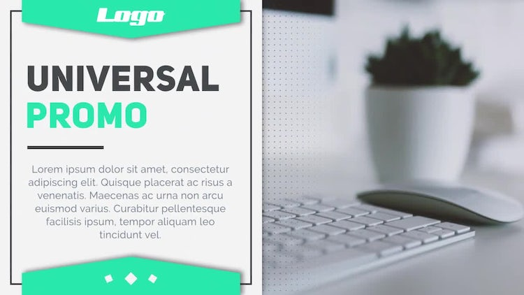 Universal Promo : After Effects Templates