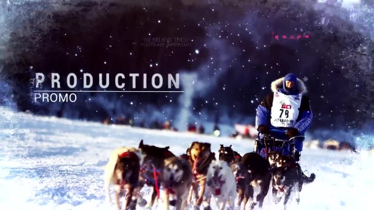Epic Winter Opener: After Effects Templates