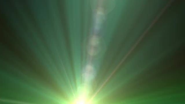 Spinning Green Flare Transition: Stock Motion Graphics