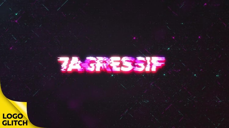 Cyberpunk Glitch Logo Reveal: After Effects Templates