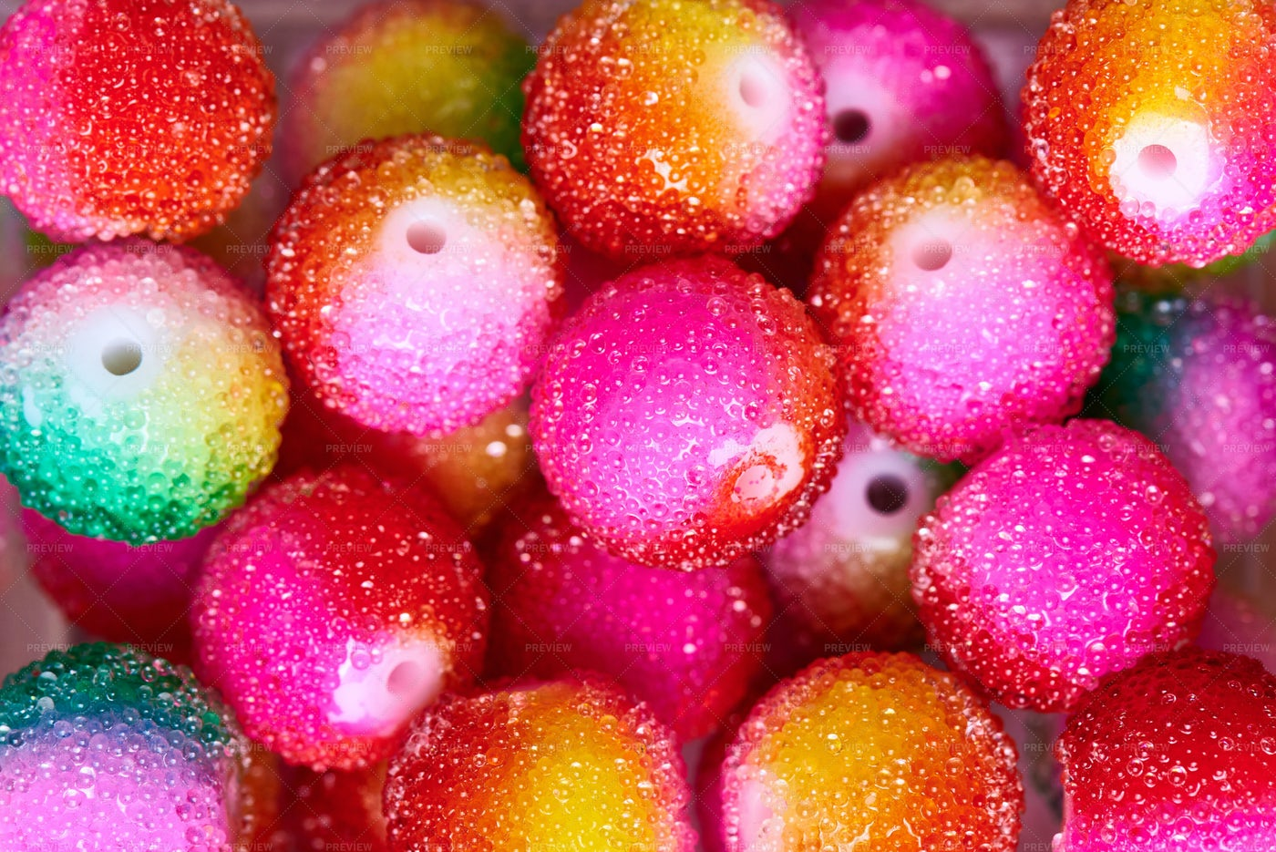 Glittered Balls: Stock Photos