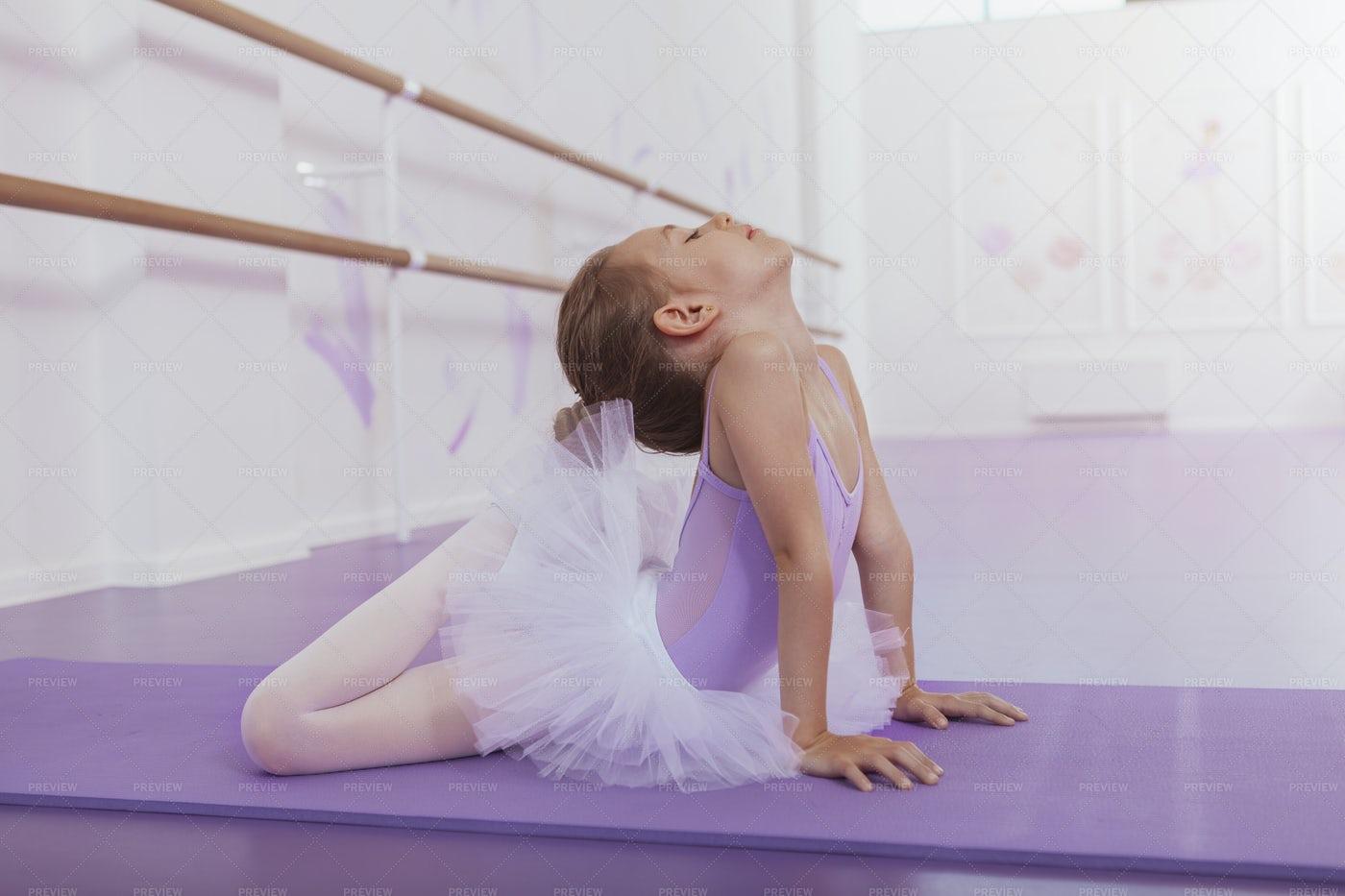 Little Ballerina: Stock Photos