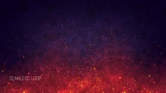 Abstract Fire Background: Motion Graphics