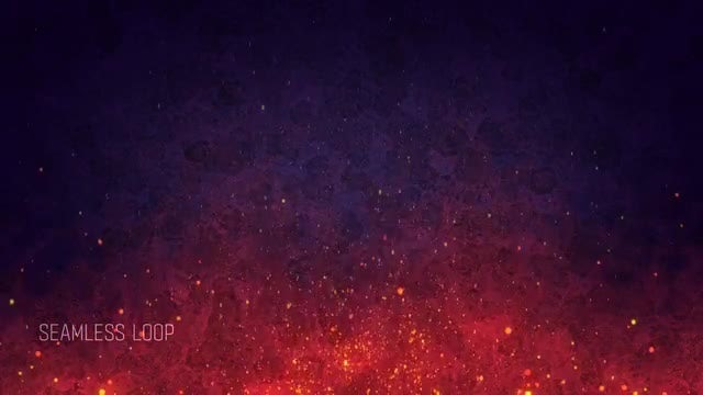 Abstract Fire Background: Stock Motion Graphics