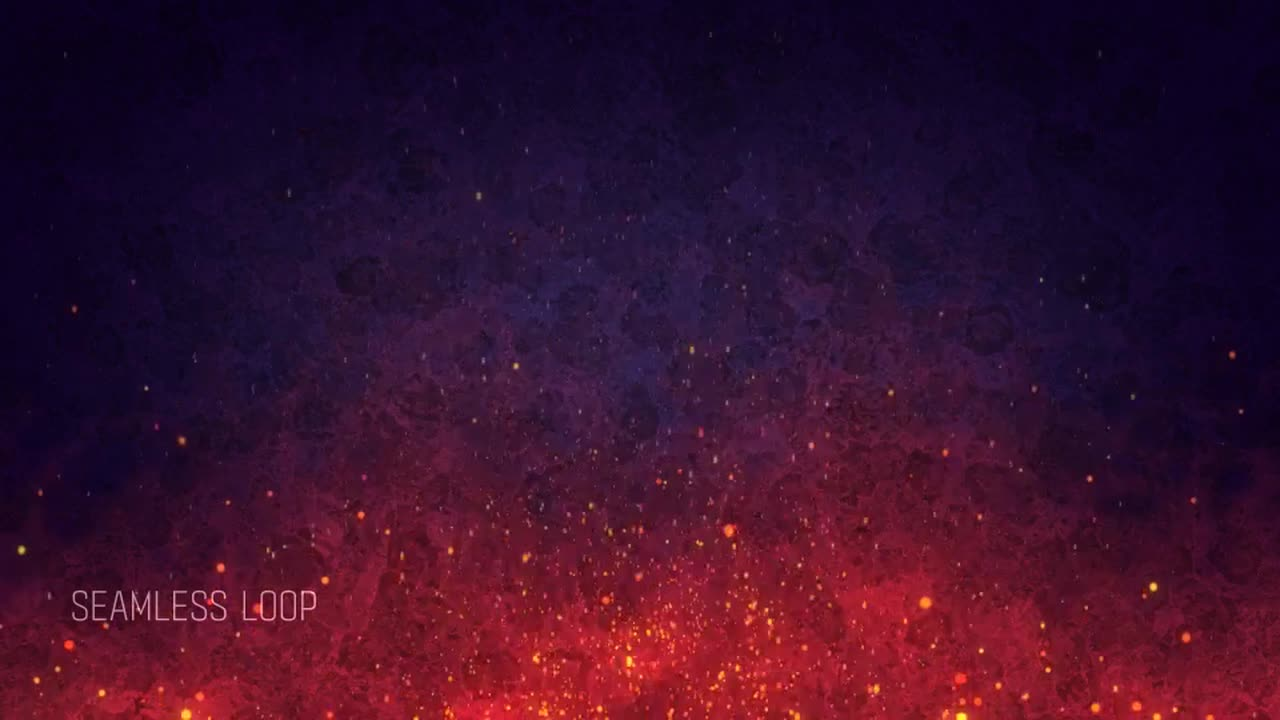 Abstract Fire Background Motion Graphics Motion Array