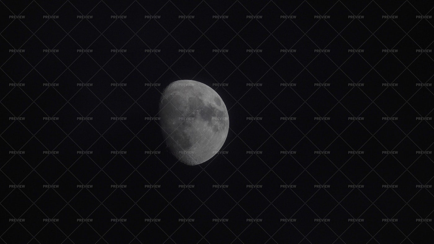 Moon Close-up: Stock Photos