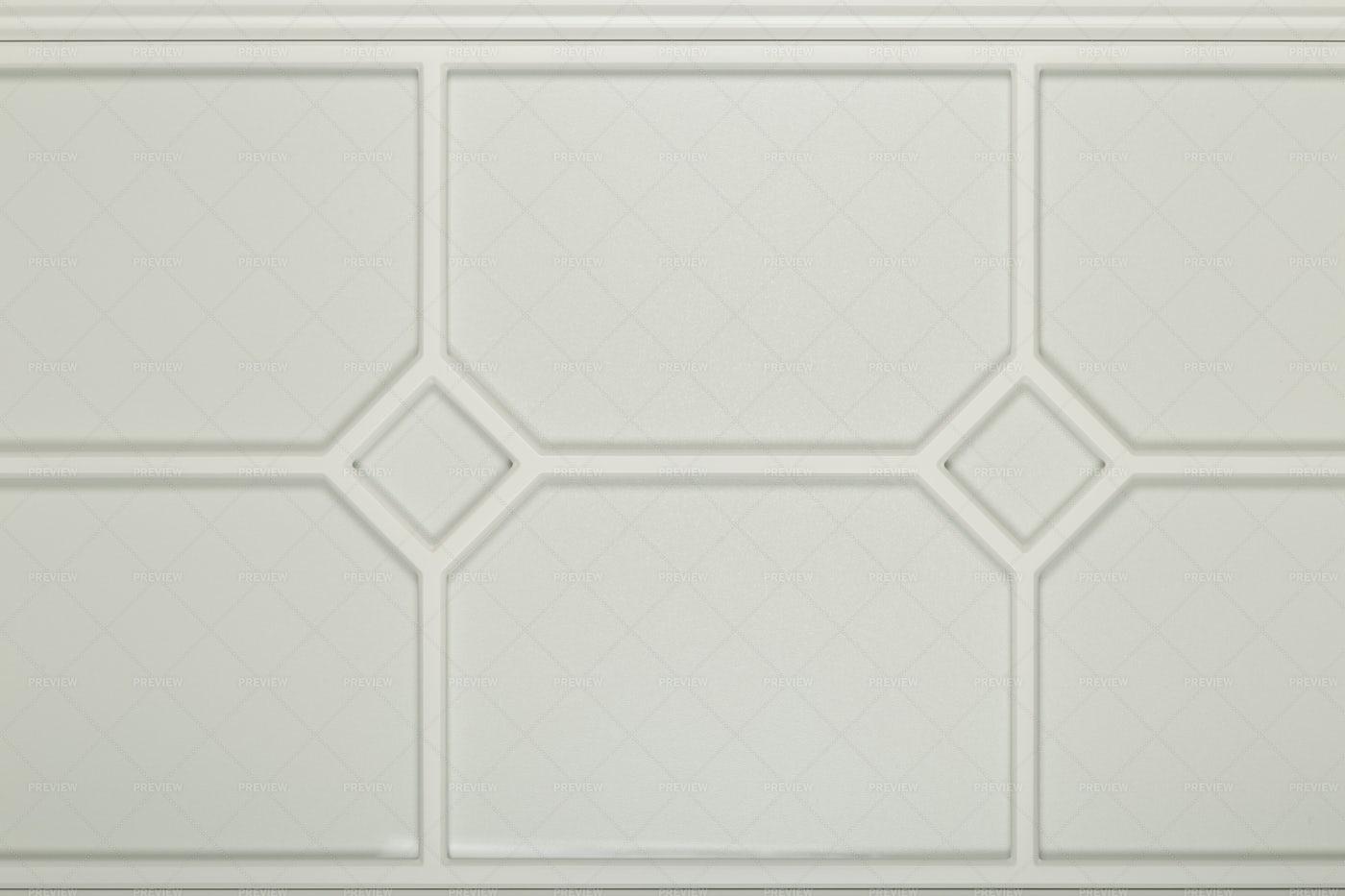 White Kitchen Facade: Stock Photos
