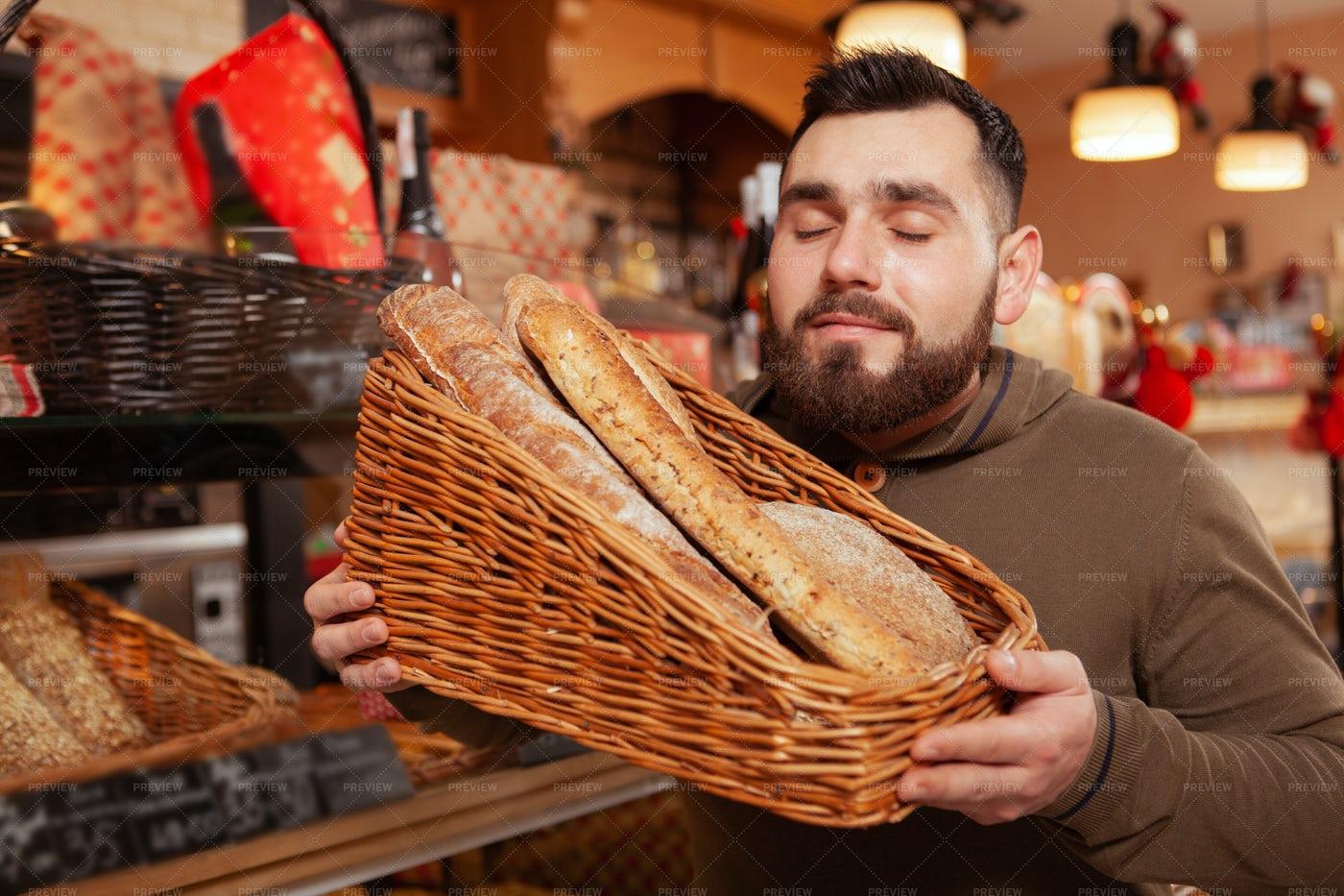 Bakery Shopping: Stock Photos