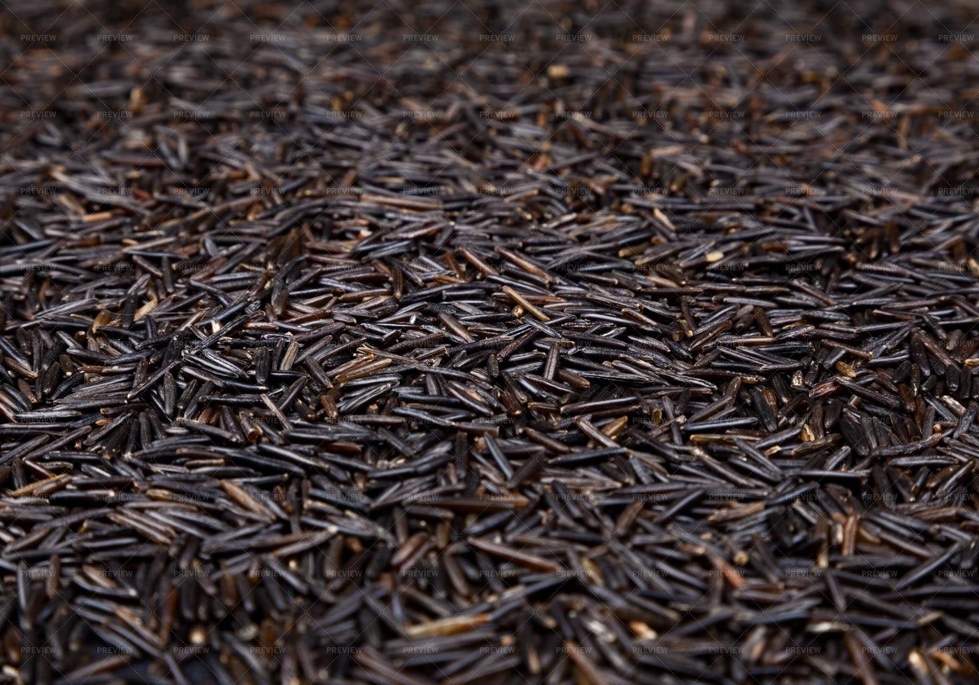 Pile Of Wild Rice: Stock Photos
