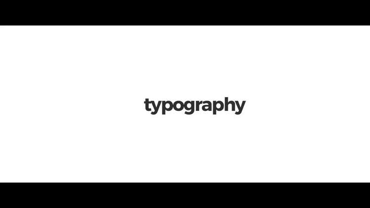 Stomp Typography: Premiere Pro Templates