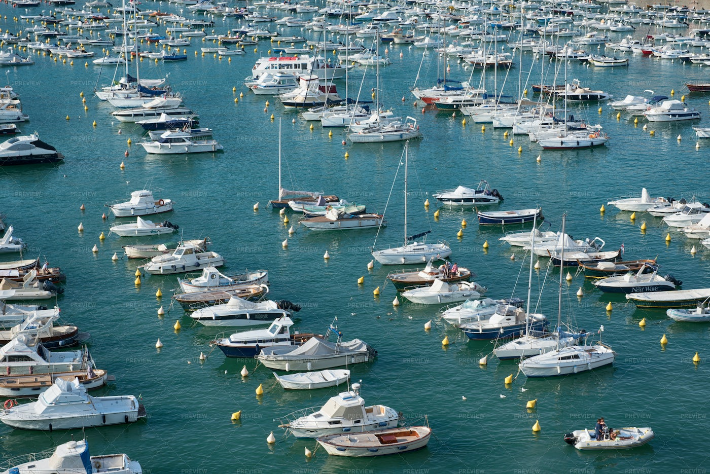 View Of Boats And Yachts: Stock Photos