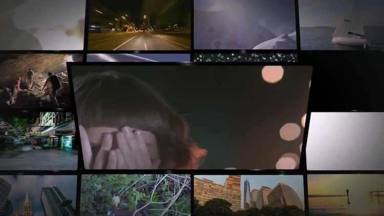 Media Wall 2: After Effects Templates