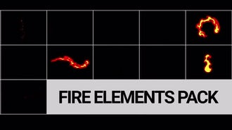 Fire FX Pack: Motion Graphics