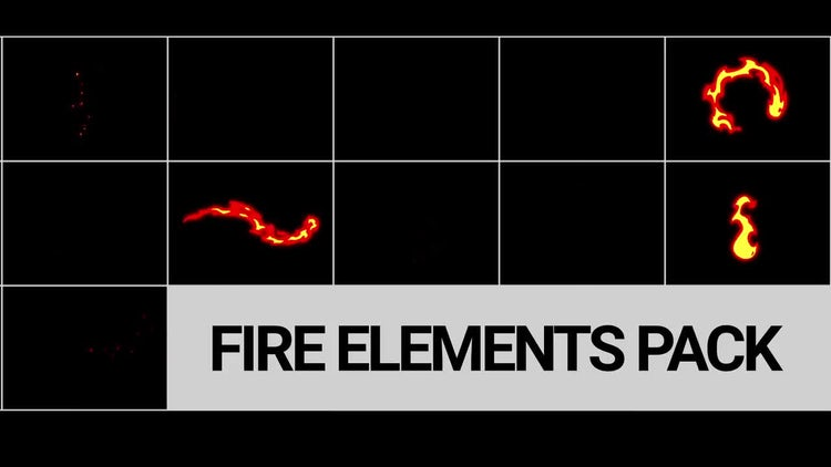 Fire FX Pack: Stock Motion Graphics