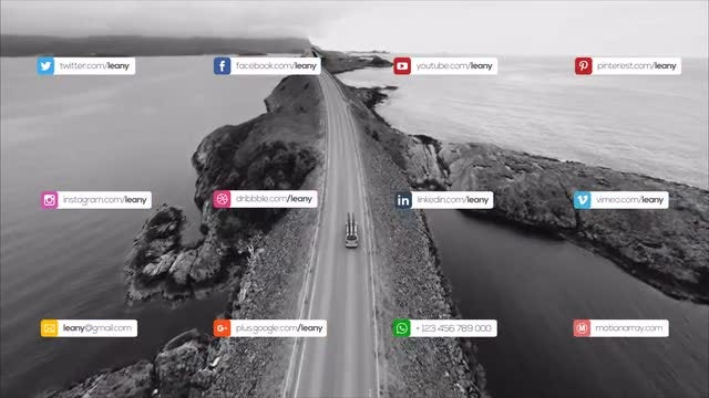 Social Media Video Graphics Pack: After Effects Templates
