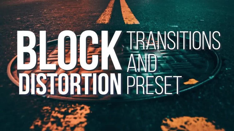 Block Transitions and Presets: Premiere Pro Templates