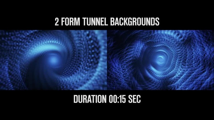 Tunnel Backgrounds: Motion Graphics