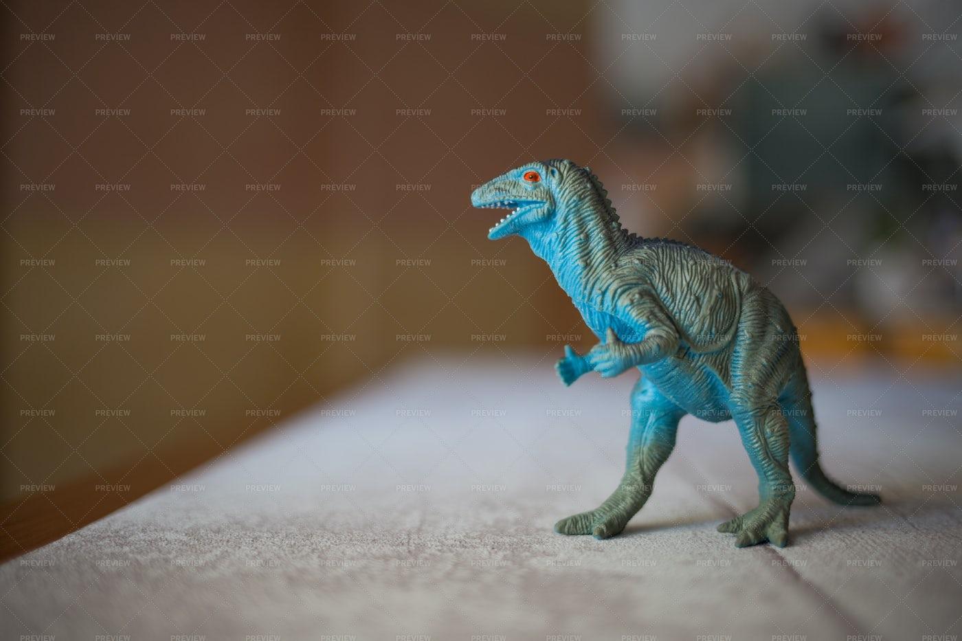 Plastic T-Rex Toy: Stock Photos