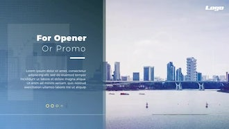 Modern Minimal Corporate: After Effects Templates