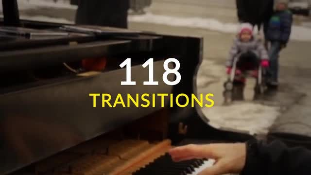 118 Transitions: After Effects Templates
