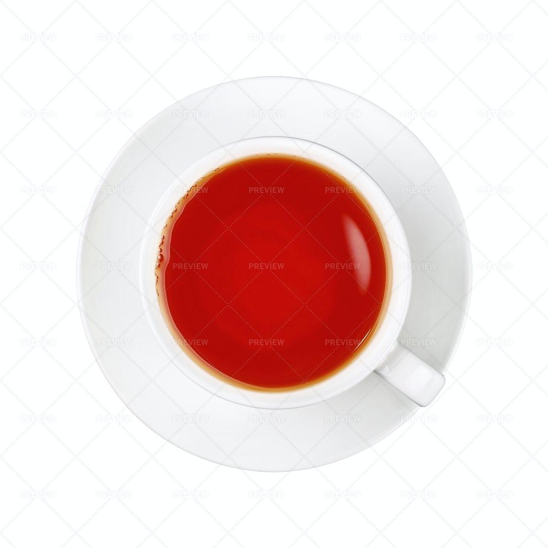 A Cup Of Black Tea: Stock Photos