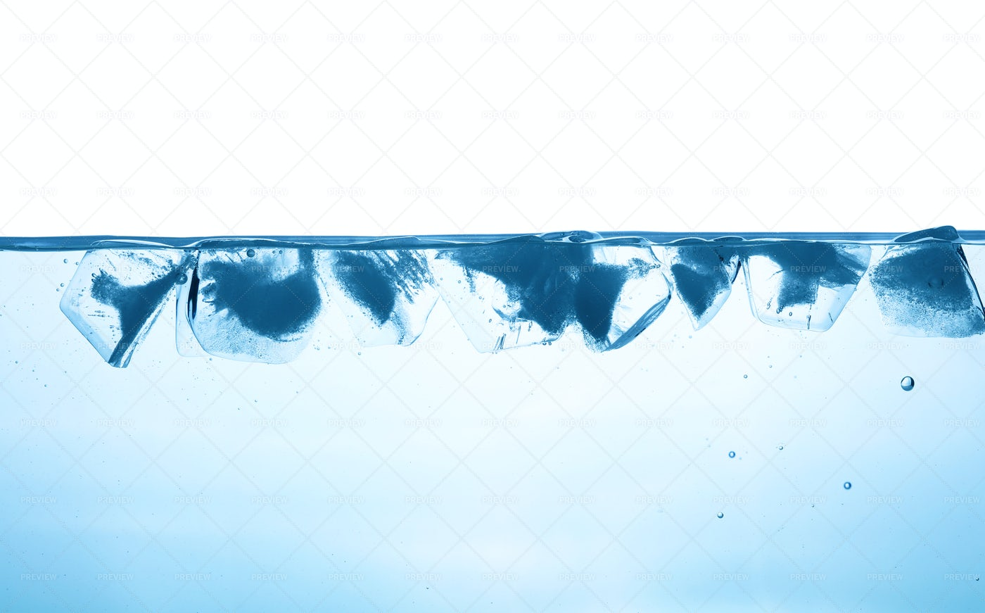 Water With Ice: Stock Photos