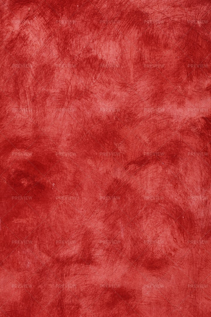 Red Plaster Wall: Stock Photos
