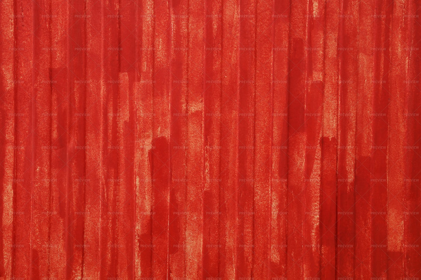 Red Painted Metal: Stock Photos