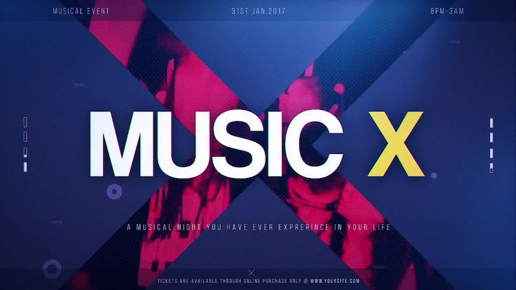 Music X: After Effects Templates