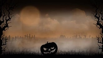 Halloween Background 2: Motion Graphics