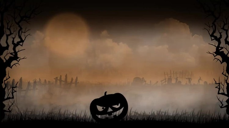 Halloween Background 2: Stock Motion Graphics