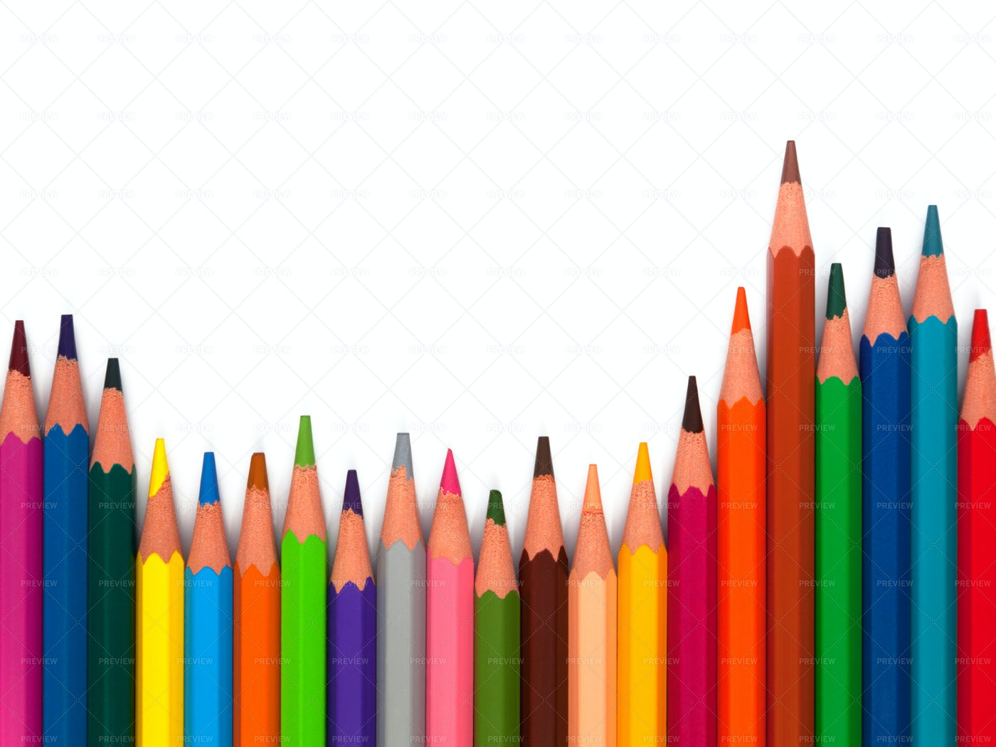 Colored Pencils: Stock Photos