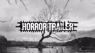 Horror Trailer: Premiere Pro Templates