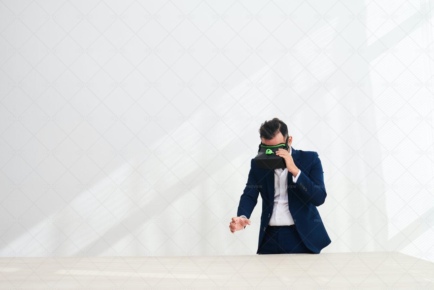 Exploring Virtual Reality: Stock Photos