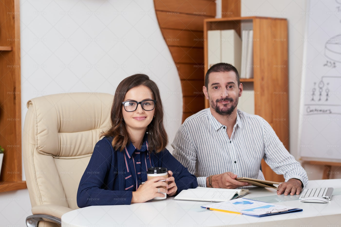 Positive Business People: Stock Photos