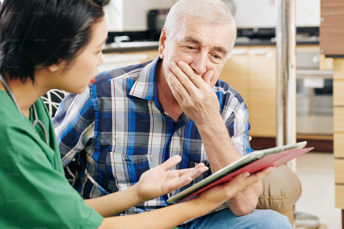 Bad Medical Tests Results: Stock Photos