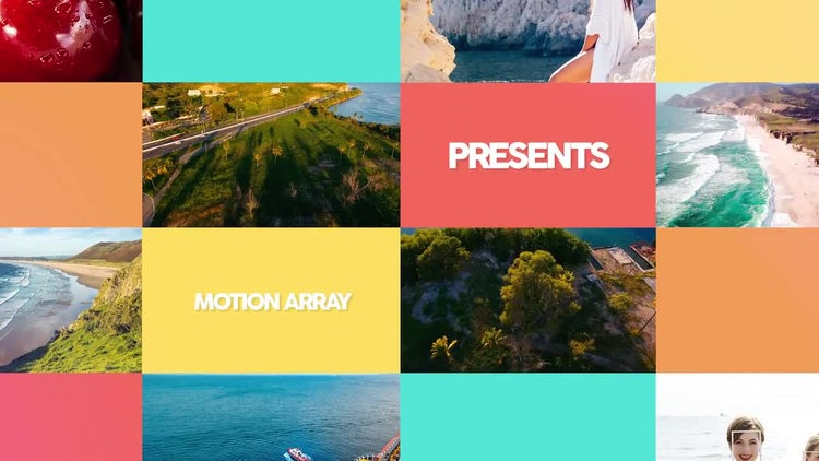 Summer Slideshow: Premiere Pro Templates