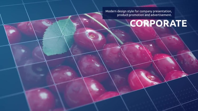 Rectangle Grid Montage Show: After Effects Templates