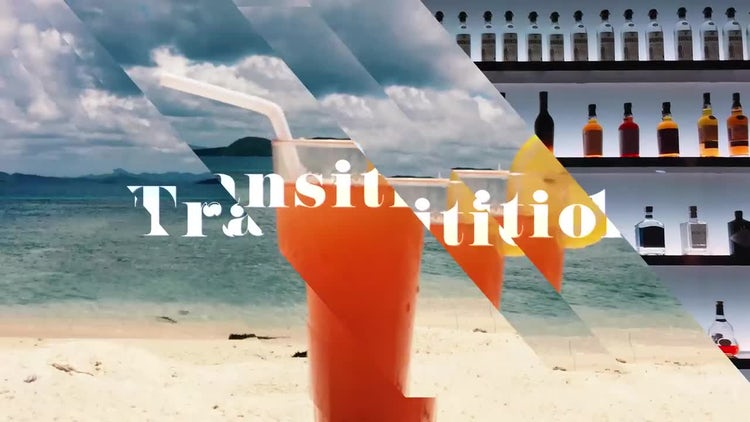 Transitions In Flux: After Effects Templates