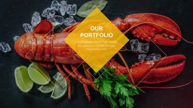 Restaurant & Cafe Promo: After Effects Templates