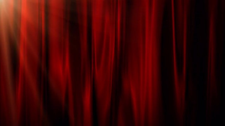 Abstract Curtain: Motion Graphics