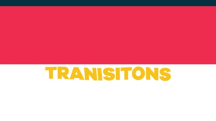 55 Transitions: After Effects Templates
