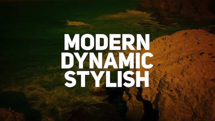 Dynamic Travel Promo Opener: After Effects Templates