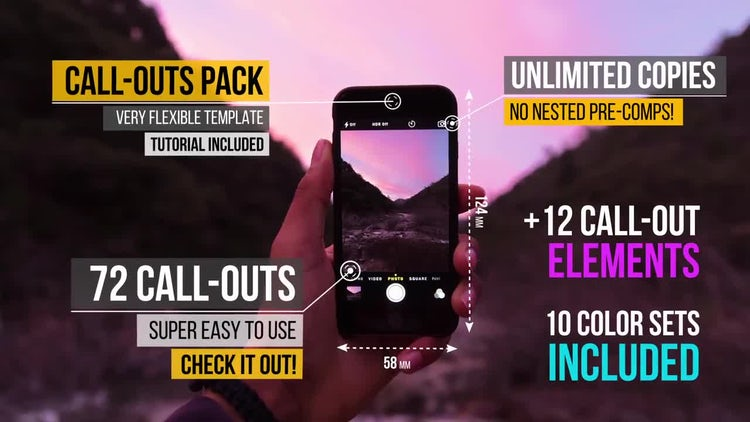 Call Out Titles Ultimate Pack: After Effects Templates