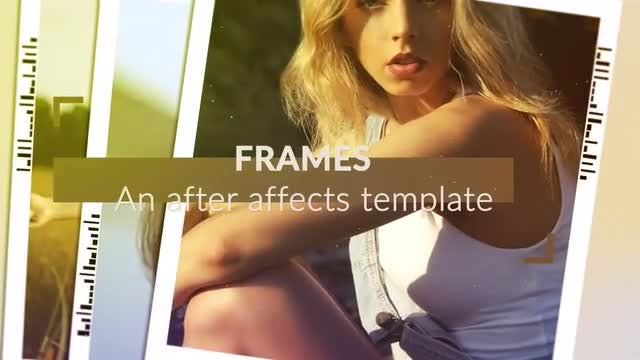Frames: After Effects Templates