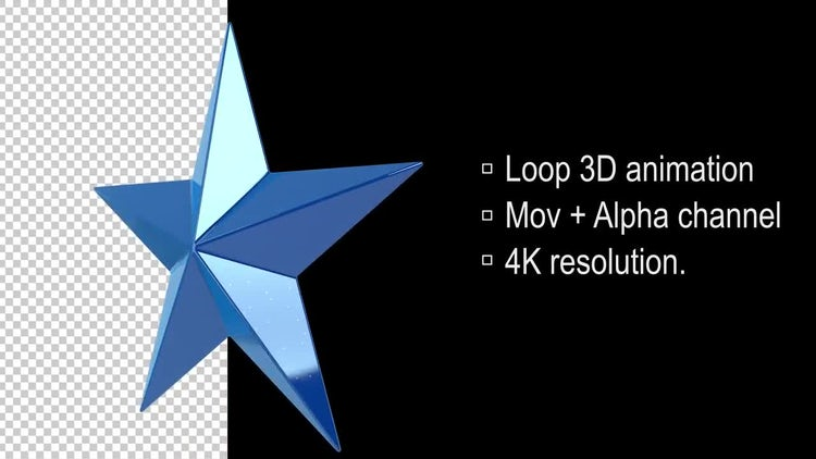 3D Stars: Stock Motion Graphics