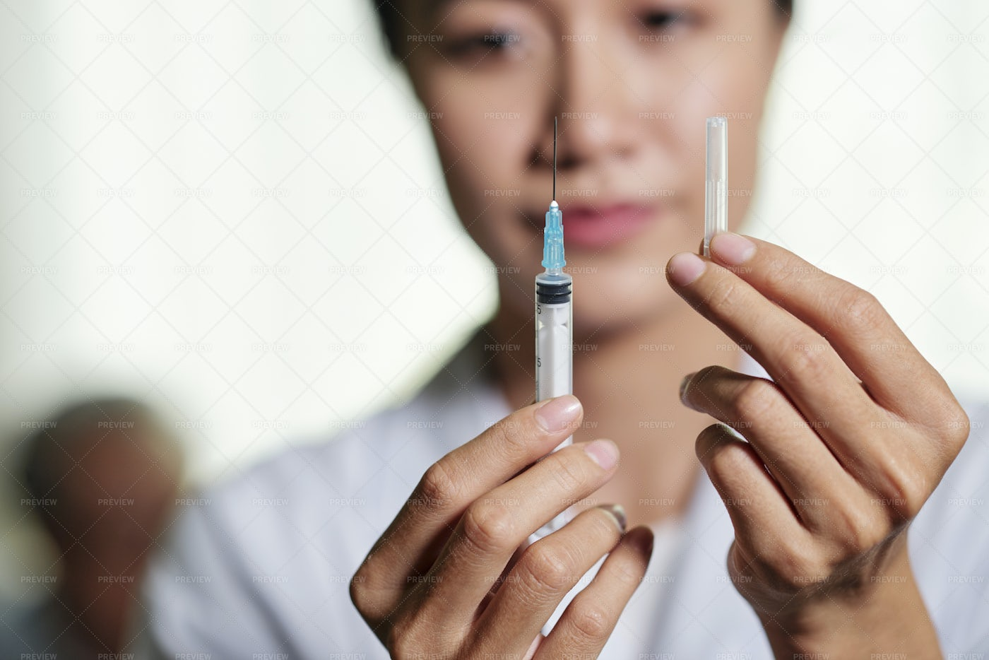 Vaccination From Flu: Stock Photos