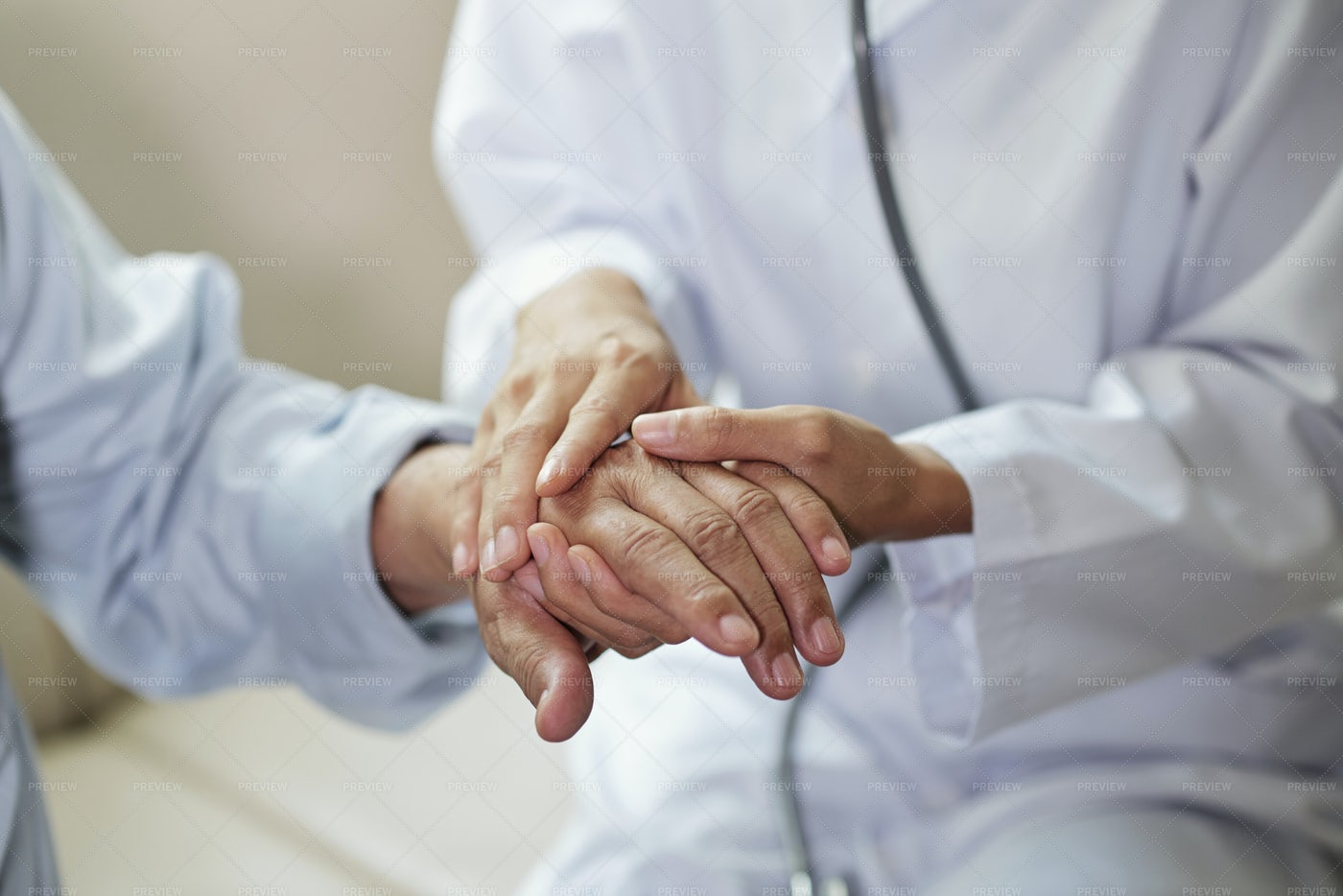 Doctor Taking Care Of Patient: Stock Photos